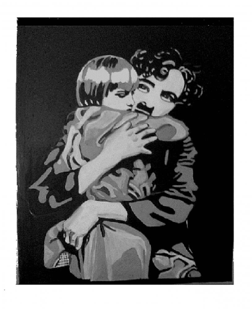Charlie Chaplin by sellia